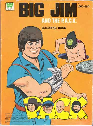 Big Jim and the Pack Colouring Book