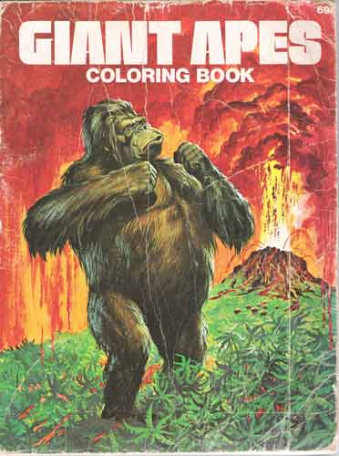 giant apes Colouring Book