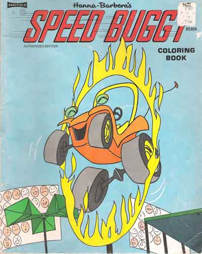 speed buggyColouring Book