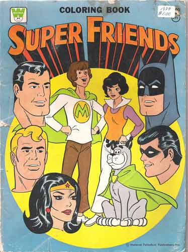 Superfriends Colouring Book