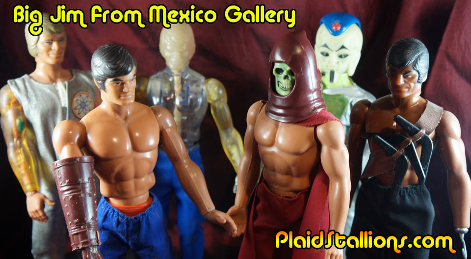 1970s Big Jim figures from mexico