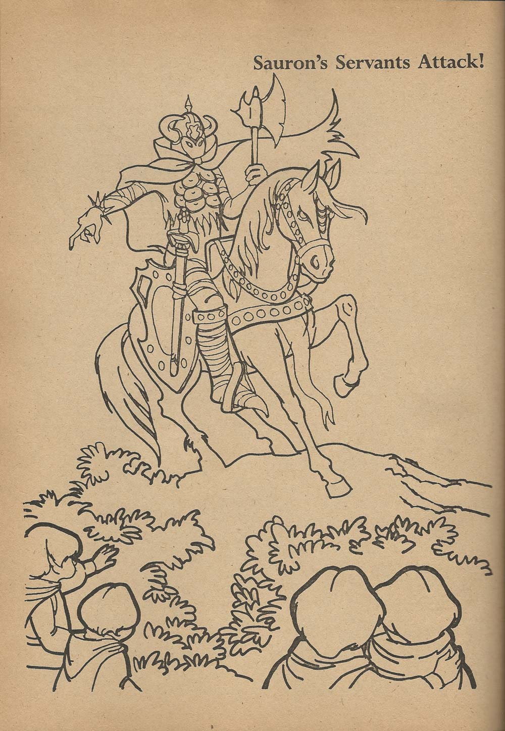 thread colouring book theatre lord of the rings - Lord Of The Rings Coloring Book