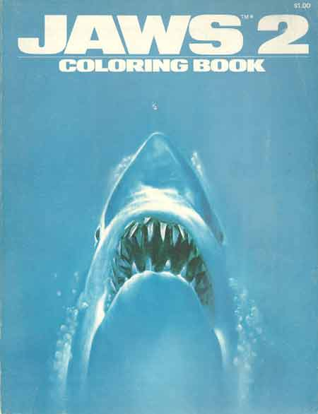 Colouring Book Theatre Jaws 2