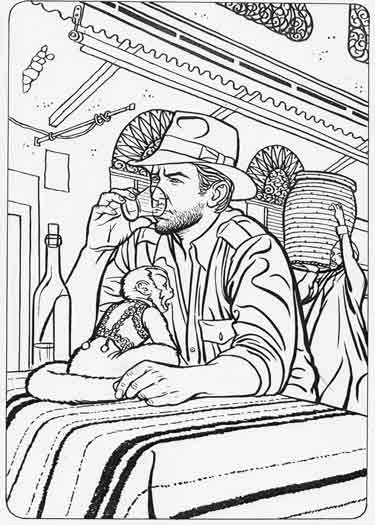 Indiana Jones Coloring Pages Free - Coloring Home | 525x375