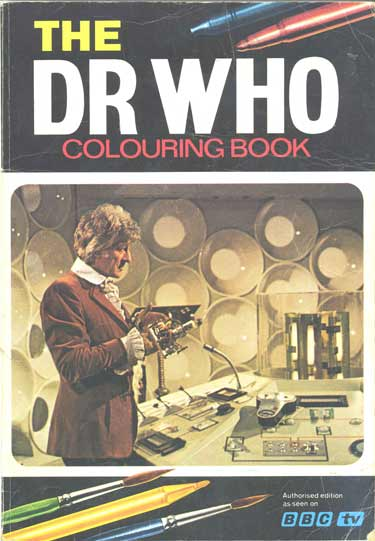 Colouring Book Theatre Doctor Who