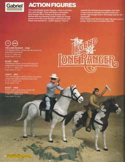 legend of the lone ranger catalog