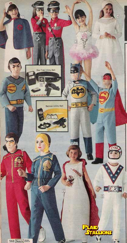 vintage halloween costumes