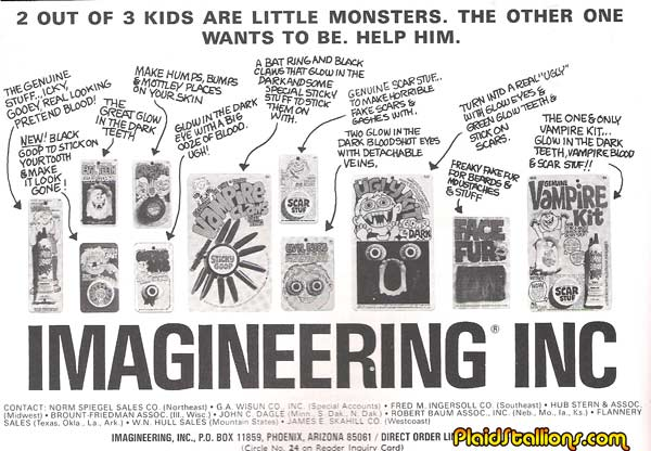 imagineering make up ad