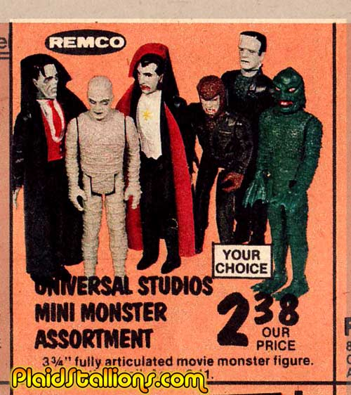 Plaid Stallions Rambling And Reflections On 70s Pop Culture Remco Mini Monster Love