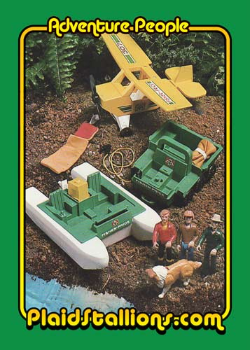 Fisher Price Adventure People Trading Card