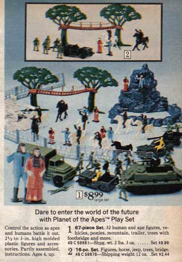 Planet of the Apes Playset