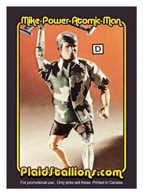 Atomic Man Trading Card
