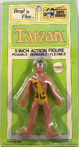tarzan toys on plaidstallions