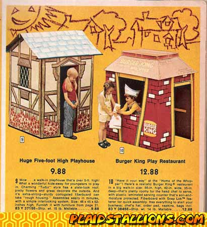 burger king playset