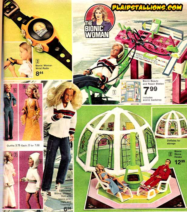 Bionic Woman Merchandise