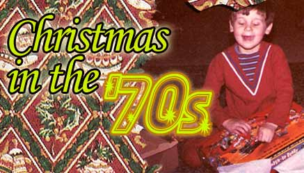 Christmas in the 70s book project