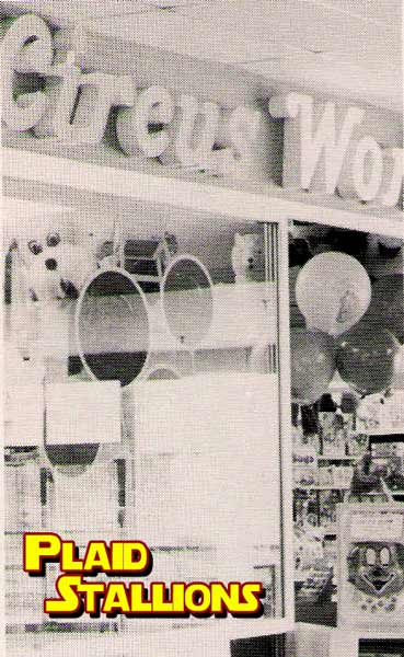 Circus world in the late 1970's