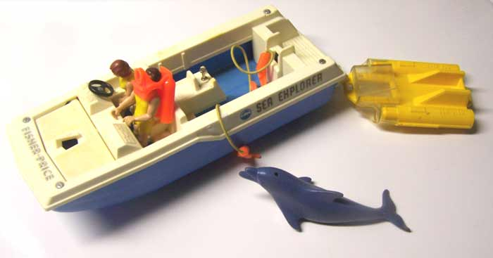 fisher price sea explorer