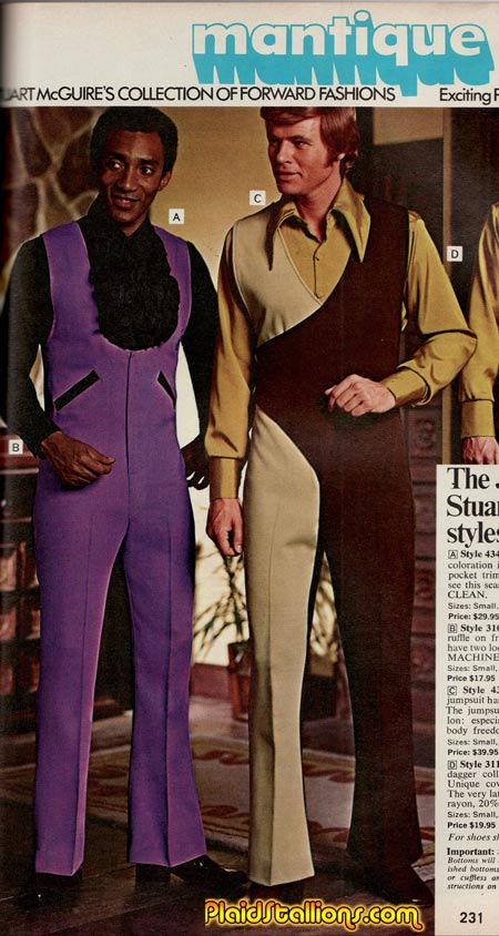 Jumpsuits from the 1970s