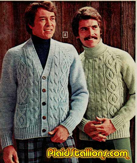 70s fashion plaidstallions