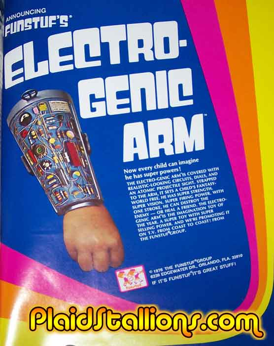 fun stuf electro genic arm