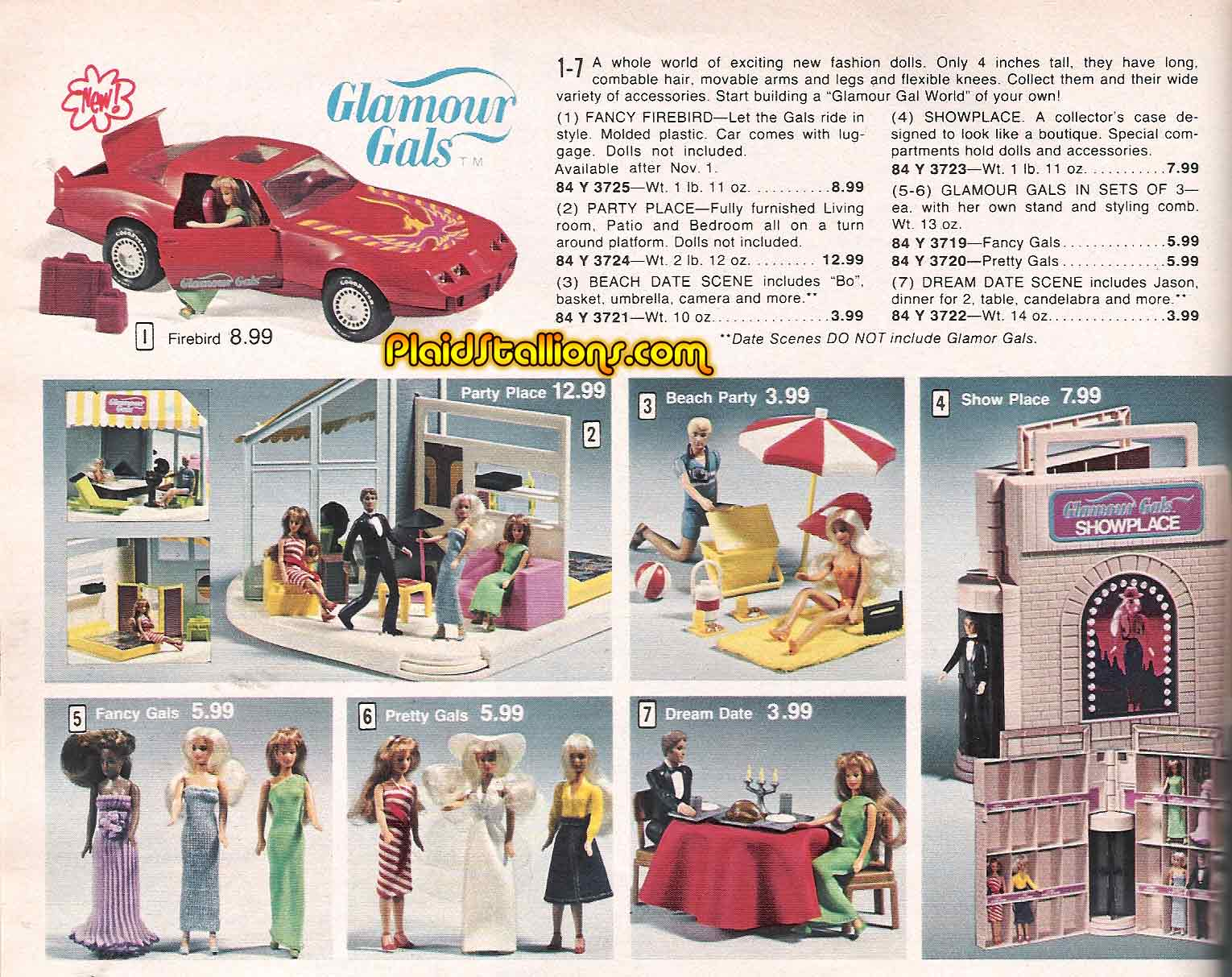 Kenner Glamour Gals