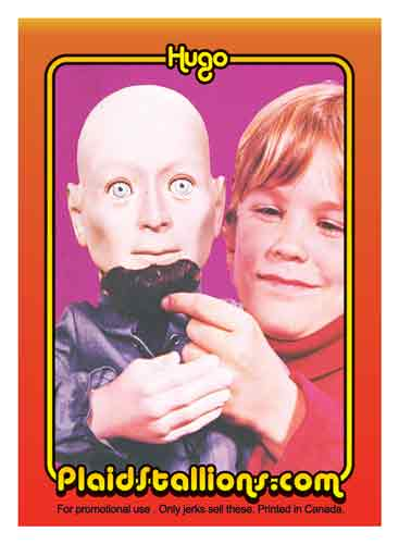 kenner hugo trading card