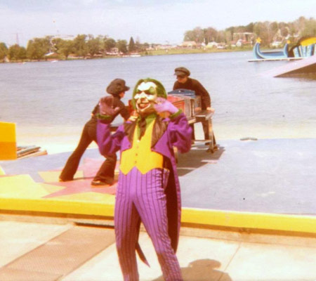 The joker at sea world