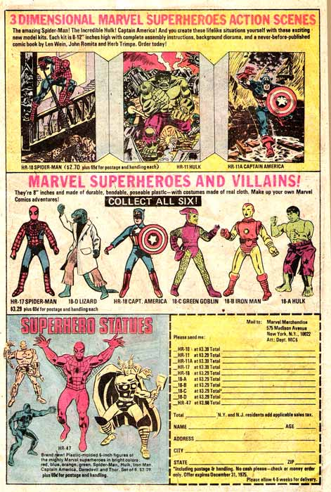marvel comics toys