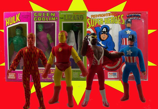 Mego Superheroes