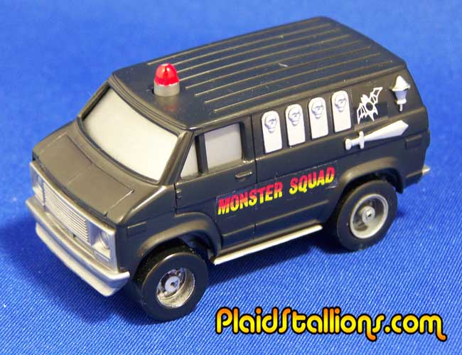 ideal toys monster squad van