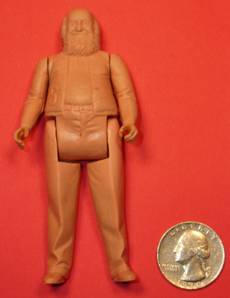 Kenner Man From Atlantis Mr Schubert Prototype