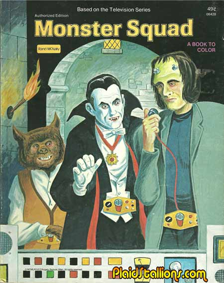 Monster Squad Coloring Book
