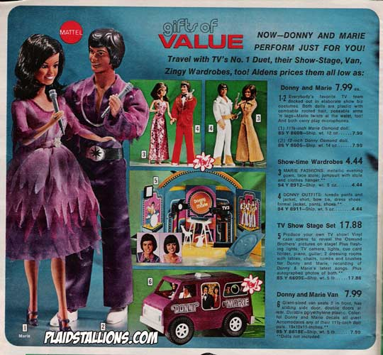 mattel osmond dolls