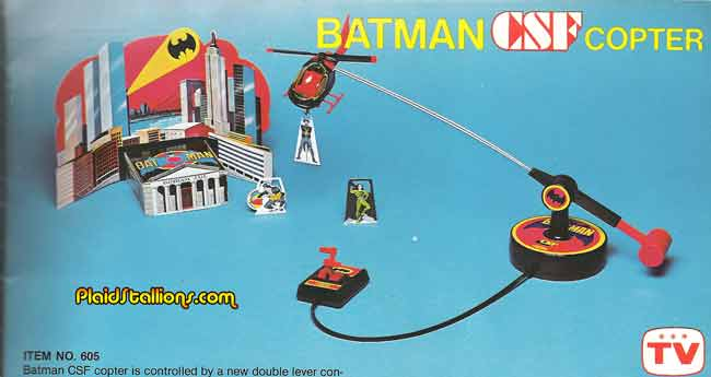 Remco batman Batcopter