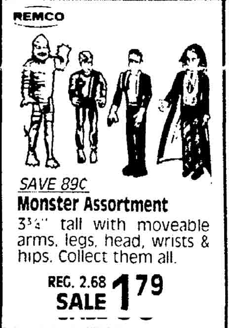 Remco universal monsters