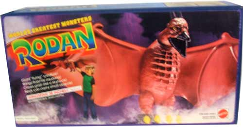 boxed mattel rodan
