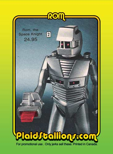 Rom Trading Card