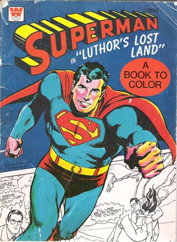 Superman Colouring Book