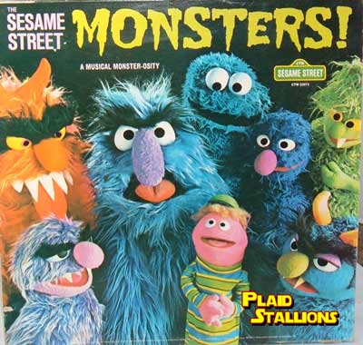 sesame street monsters