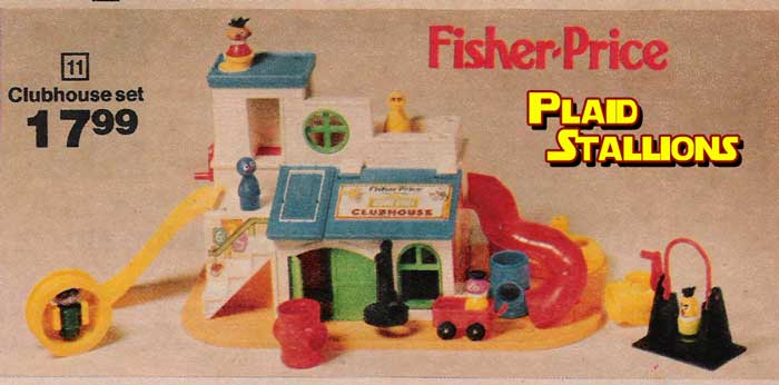 the fisher price sesame street clubhouse