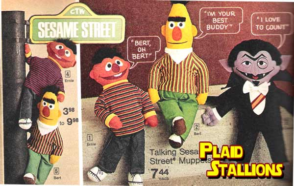 sesame street talking dolls