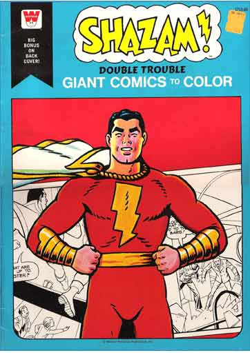 Shazam Colouring Book