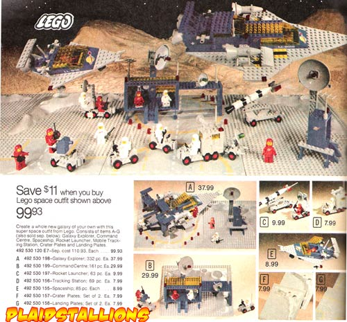 space lego