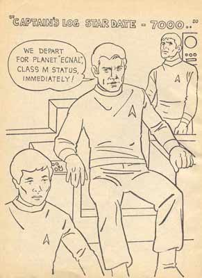 star trekcolouring book