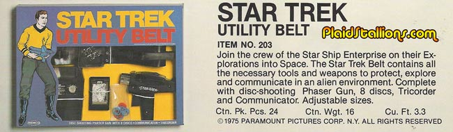 Remco Star Trek belt