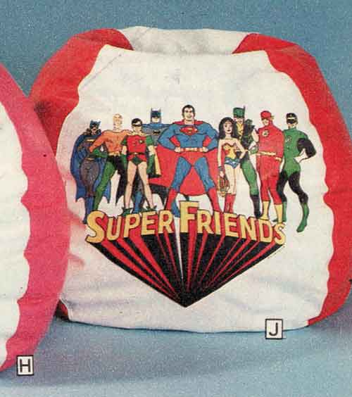 I Never Run Into Vintage Bean Bag Chairs At Antique Malls Or Toy Shows They Must Have Just Been Thrown Out Most Of The Time Im Digging This Superfriends