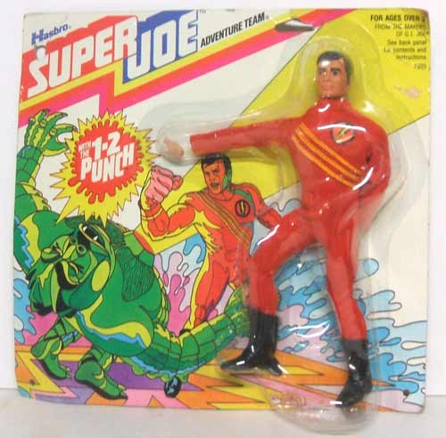 carded hasbro superjoe