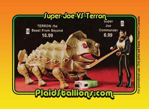 Super Joe Trading Card