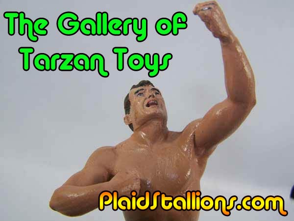 Aurora comic scenes Tarzan model